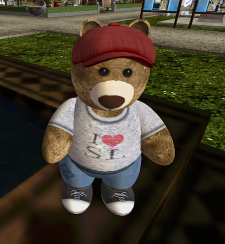 Birthday Bear, created by Sway Dench