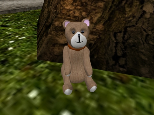 Everest Piek's bear for customising (and maybe giving to a Linden)