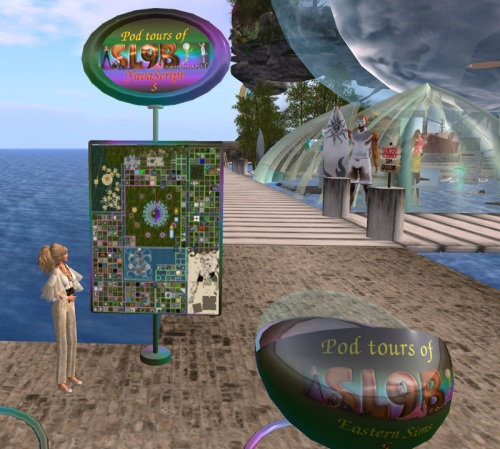 Pod Tours will be running all over the Birthday sims!